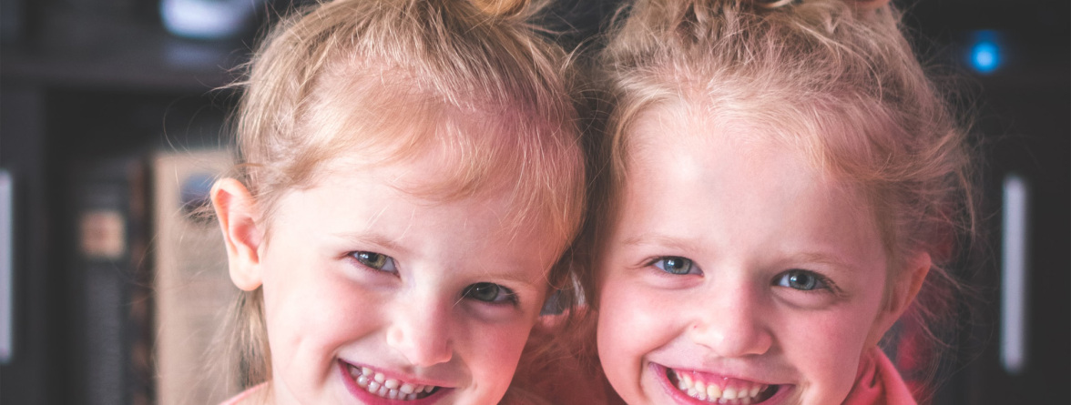 Image of two smiling children
