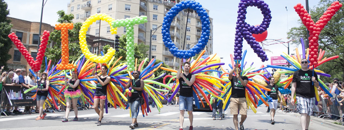 Image of an LGBT pride parade