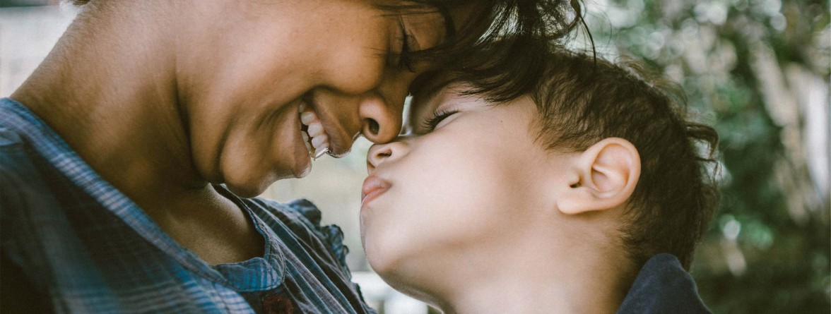 Picture of a gay parent and child