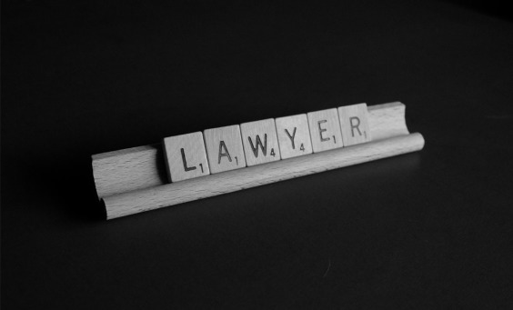Image of the word LAWYER